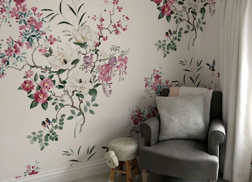 Hollands Finishes Wallpapering